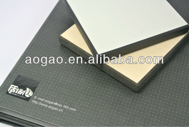 Interior phenolic compact laminate wall cladding system
