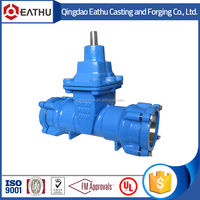 potable water gate valve with sockets