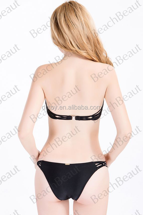 ladies high quality beachwear,bandage triangle bikini, sexy bikini swimwear