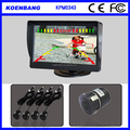 4.3 inch LCD Display Colorful visual Parking Sensor with car rearview camera
