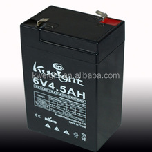 6v 4.5ah agm battery for lantern
