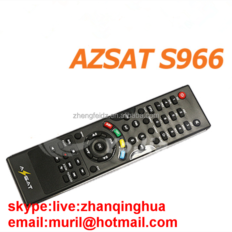 Black 47 Key Remote Control for AZSAT S966 iks & sks satellite receiver AZAMERICA S1001 S922 REMOTE SKYSAT South America Market