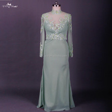 RSE680 Sexy Tall Long Sleeve Mother Of The Bride Lace Dresses