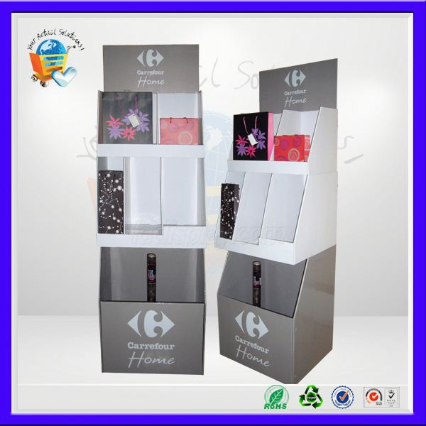 promotion cardboard pdq tray ,pp meat trays display cardboard display ,printed tray corrugated displays stand