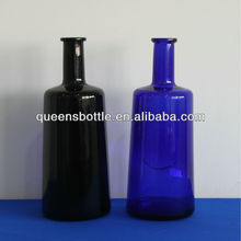750ML TEQUILA BLUE BOTTLE