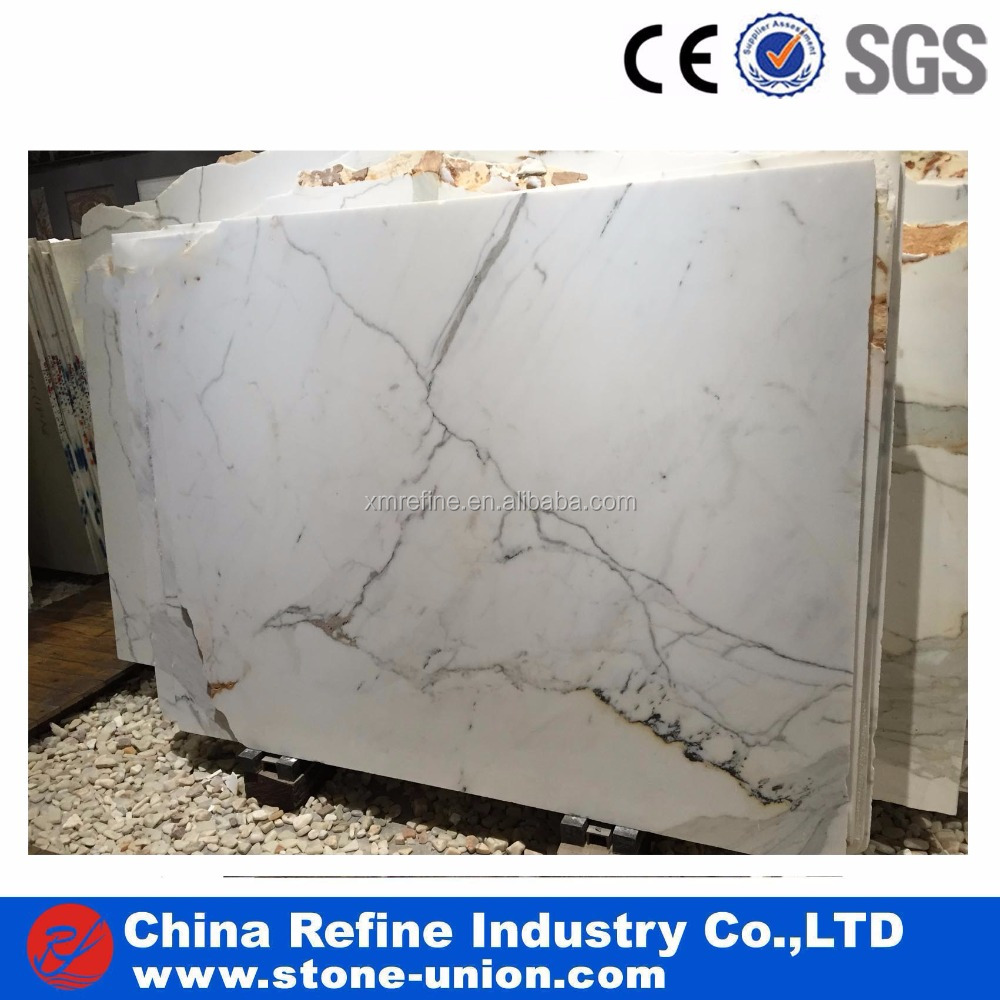 Polished Statuario Venato Italy Marble Factory Cut To Size