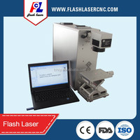 20w fiber portable laser marking machine for metal/aluminum/plastic/leather