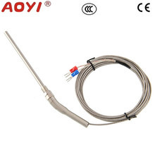 Hot Sale High Quality Stainless Steel High <strong>Temperature</strong> -100 To 1250 Degree Thermocouple K Type 100mm Probe Sensors