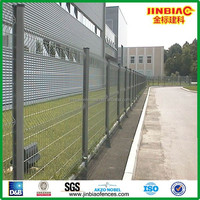 metal post bracket fence/wire mesh fence ( Factory & ISO 9001:2008)