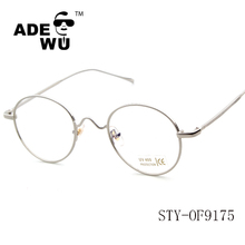 ADE WU 2016 new model eyewear fancy thin temple frame glasses optical frames manufacturers in china