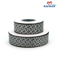 Pakistani ribbon work dresses 25mm Grosgrain ribbon for garment accessories