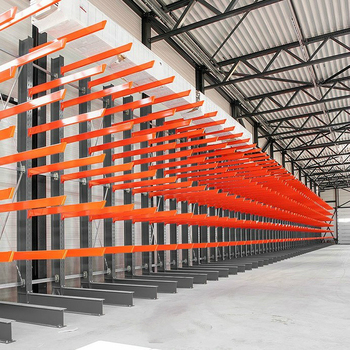 Warehouse Storage Racking Heavy Duty Single Side Cantilever Rack