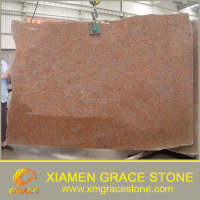 G562 Maple Red Granite Slab for floor wall tile