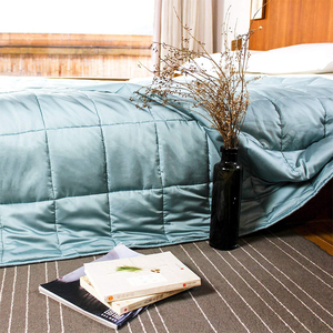 how to make a your own medium weighted blanket with glass beads