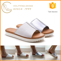 Bulk wholesale stylish woman casual day wear soft PU slipper
