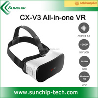 Standalone Virtual reality simulator factory cheap vr all in one android vr headset