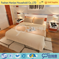 High quality furniture hotel 5 star bedroom sets from china bed making factory