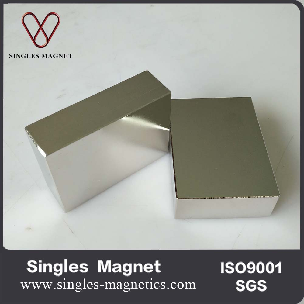 Factory price Large block neodymium n52 55x40x17mm magnet