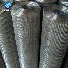 China manufacturer 1x1/2 bird cage galvanized welded wire mesh roll for chicken cages
