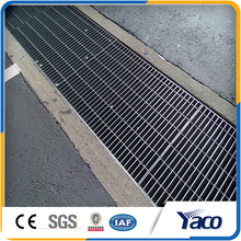 Factory direct sale hot dip galvanized steel grating weight(13 years factory)