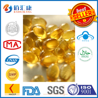 bulk deep sea Halal fish oil capsules