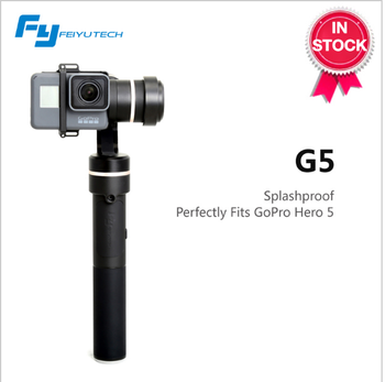 Newest 2017 FeiyuTech G5 Splash-Proof Bluetooth 3 Axis, Compatible with Many Actioncam GoPr o 5/4/3 Yi 4k AEE ect