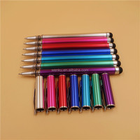 2014 popular stylus ball pen 2 in 1 double sided ball pen and stylus, cheap promotional pens, school special pen wholesale