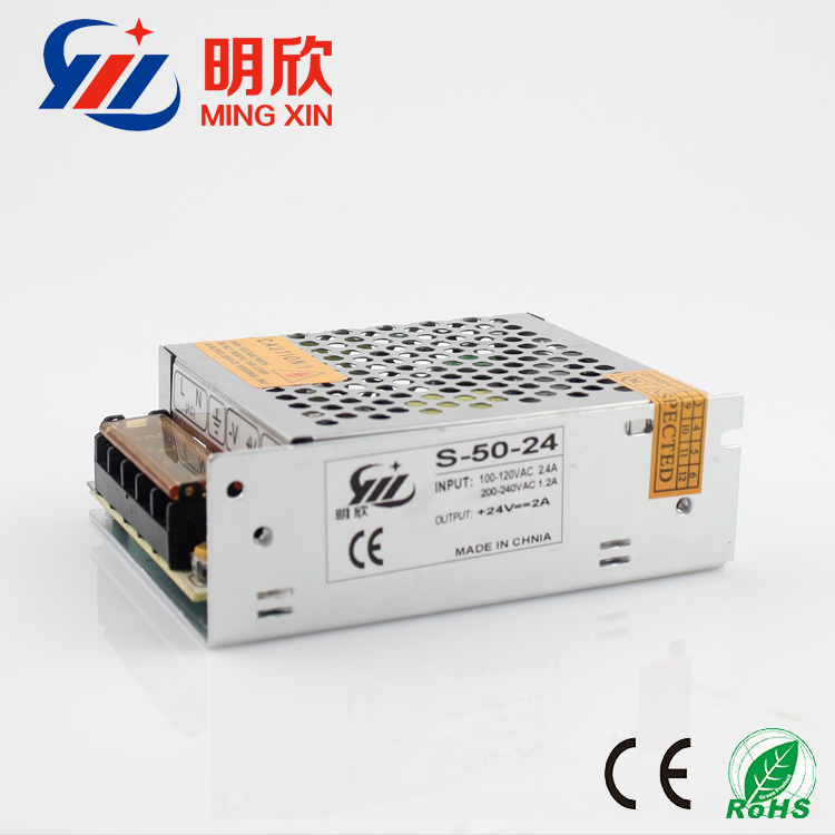 factory priceled power supply 24v 2a 48w 12V4A 48W power supply 24V