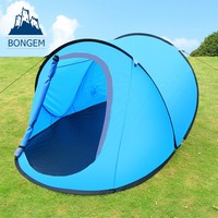 Automatic pop up boat waterproof camping tent
