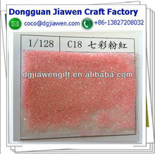 bright pink pigment cosmetics glitter powder