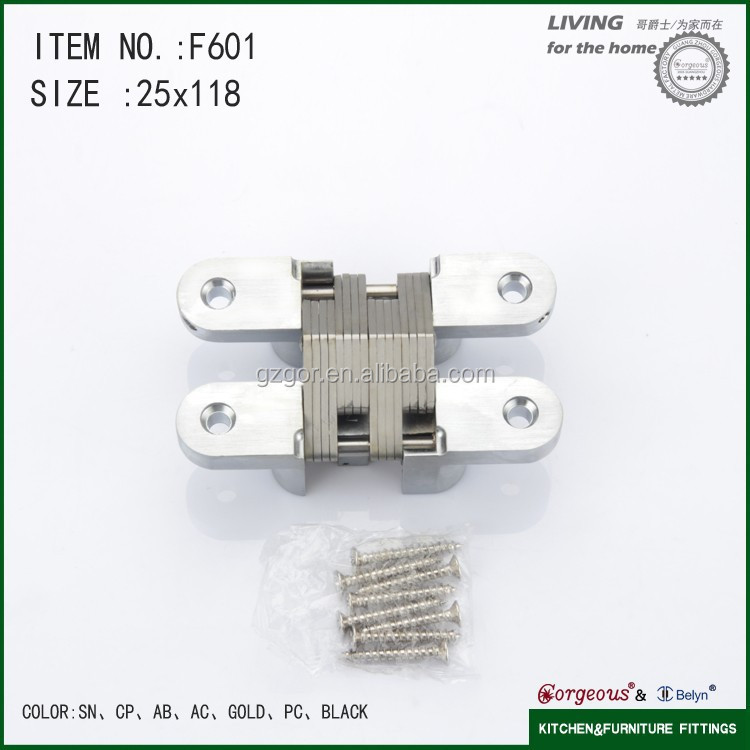F602 25*118mm jewelry box hinges and locks