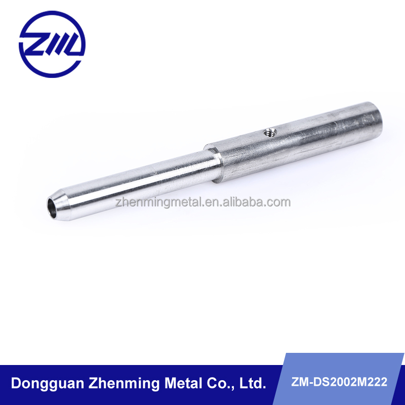 Metal hardware parts cnc machining lighter part , light fitting