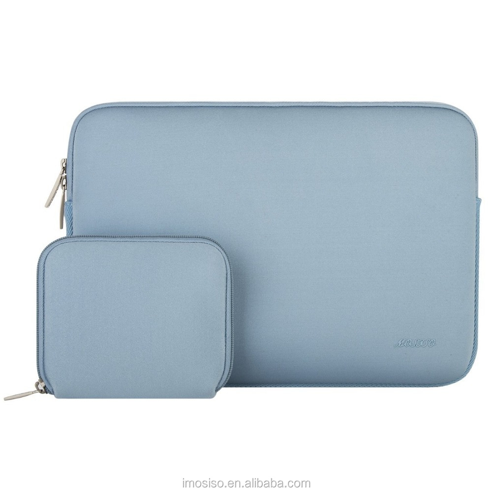 2017 Neoprene laptop sleeve 15.6 inch Airy Blue color sleeve for tablet pc