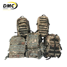 Outdoor camping hunting hiking survival waterproof camo military backpack