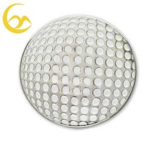 Blank cheap metal golf ball marker