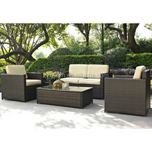 UK style fire resistant 4 PIECE cheap garden house outdoor home trends patio furniture