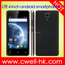UNIWA A5 4 inch MTK6735M Quad Core Andriod 5.1 Dual SIM Dual Standby Front 2MP Back 5MP Camera 1GB RAM 8GB ROM Cheap 4G Phone