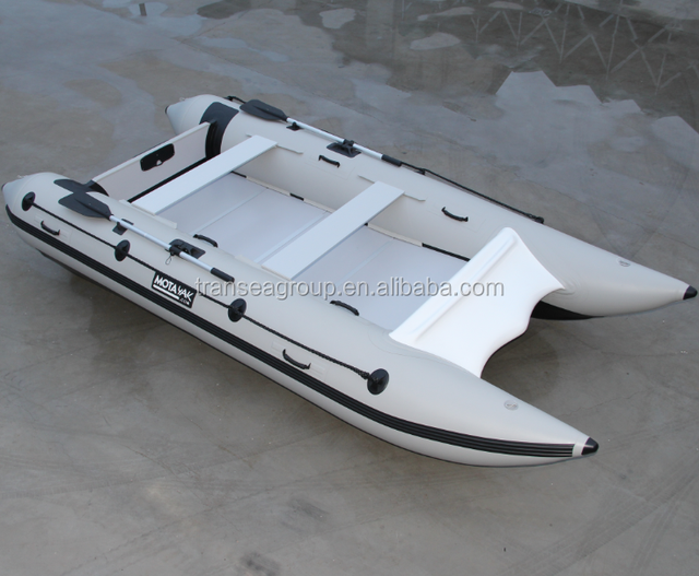 Hypalon inflatable catamaran sailing yacht with CE certificate