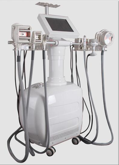 V10 multifunction RF+BIO+vacuum +Infrared light +laser+auto roller ultrasonic cavitation auto roller vacuum machine