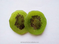 Chinese dehydrated fruits sweet dried kiwi slices