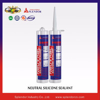 One component general purpose acetic silicone sealant for application glass & aluminum