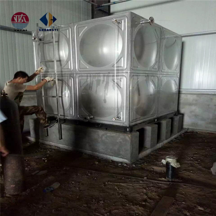 Drinking water/fire fighting hot water storage stainless steel water tank 20-1000cbm