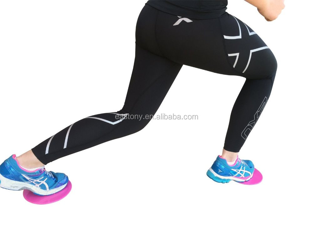 Eastony Brand of 2pc Triangle Shape Gym Core Trainers Exercise Core Sliders Discs Gliding Discs of No.1 Brand on Alibaba