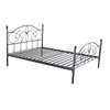 luxury antique designed high quality bedroom furniture queen size metal bed frame