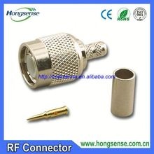 [Factory price]RF connector/cable buy 75ohm f plug rg6 conectores