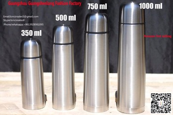 Best selling Stainless Steel Thermos Bottle,Hot/Cold Tea Drink bottles,Double Wall Insulated vacuum flask with Screw Top Lid