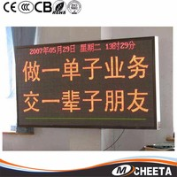 Outdoor Gas Price Petrol Station Led Red Color White Color 12 Inch Large Digit Display
