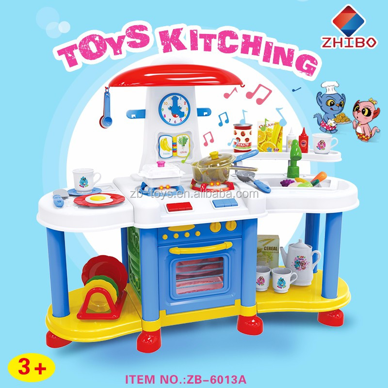 International quality inspection outdoor play kitchen toy set