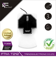 Simple Cheap LED Light Wired Mouse Wholesale FTM-T212 Computer Mouse