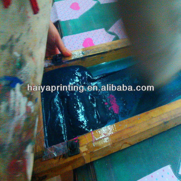 low temperature screen printing pu silicone paste/ink for swimsuit
